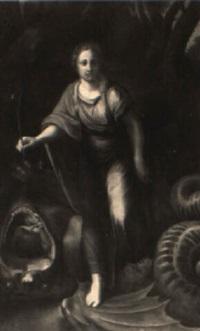 st. margaret of antioch by alexandre