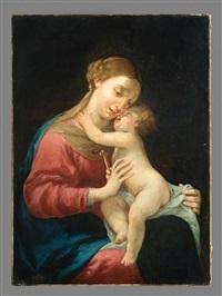 vierge à l'enfant by jacques blanchard