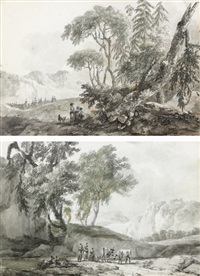 scènes pastorales by claude louis châtelet