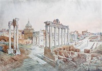 the forum, rome by daniele bucciarelli