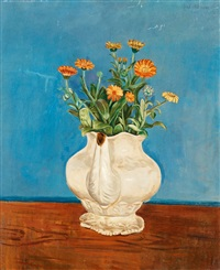 still life with flowers by axel nilsson