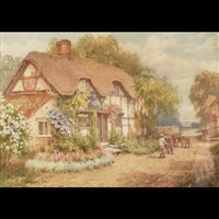 in the village of cropthrone, near evesham, worcestershire by william affleck