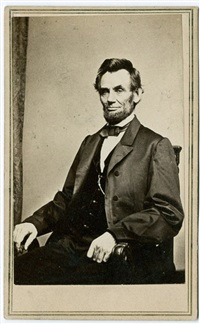 abraham lincoln by mathew b. brady