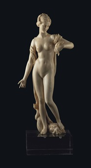 a figure of amphitrite by michel anguier
