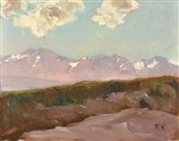 paisaje de mendoza by fernando fader