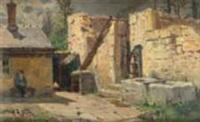 montfaucon, village près de besançon by alphonse marie de neuville
