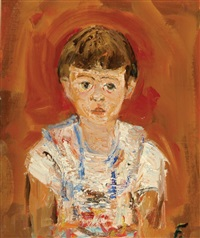 girl by yitzhak frenkel-frenel