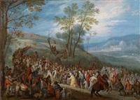 die kreuztragung by jan brueghel the younger