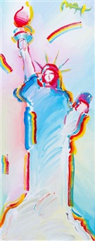 liberty series: whole body version i by peter max