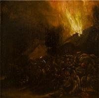 požár ii by egbert lievensz van der poel
