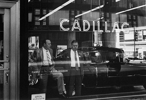 cadillac new york by william klein