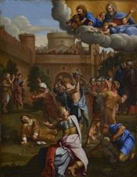 la lapidation de saint etienne by french school (17)