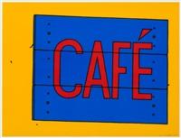 café sign by patrick caulfield