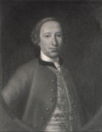 portraits of william maxwell of kirkconnell and a lady (his wife?) by cosmo alexander