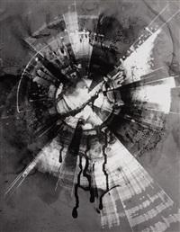 blütende erde (lichtgraphik) by heinz hajek-halke