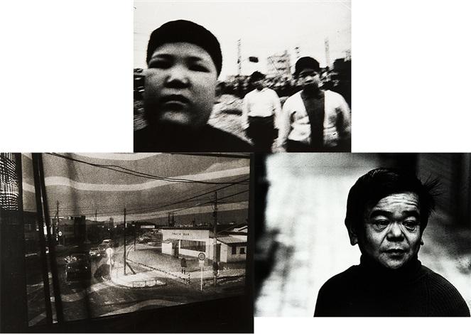 overgrown children; misawa; actor・shimizu isamu (3 works) by daido moriyama