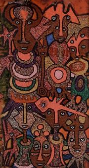 dancing masquerade by jacob afolabi