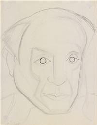 portrait de pablo picasso by françoise gilot