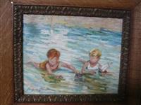 jeunes baigneurs by jacques albert