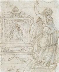 ohne titel (design for altar) by perino del vaga