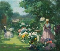 in my garden by marguerite stuber pearson