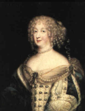 Portrait of Marie-Therese of Austria par Pierre Mignard the Elder ...
