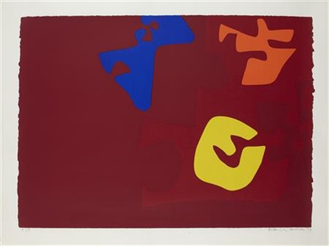 untitled (from the rothko series) by patrick heron