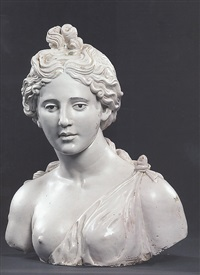 busto femminile by luca della robbia the younger
