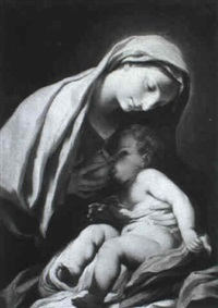 madonna col bambino by stefano maria legnani
