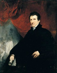 portrait of antonio canova by john jackson
