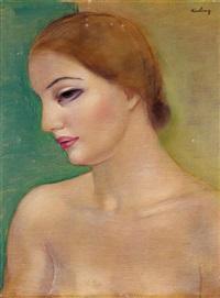 jeune fille by moïse kisling
