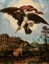 the abduction of ganymede by jan swart van groningen