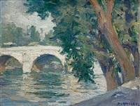 le pont des sts peres a paris by stelios miliadis