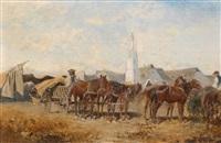markttag in szolnok by alexander ritter von bensa
