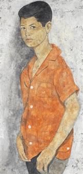 portrait of a boy by louay kayyali
