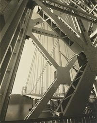 george washington bridge, new york by edward steichen
