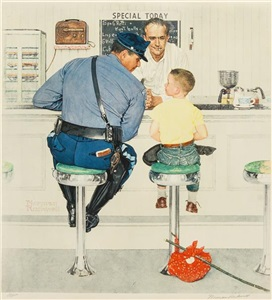 artwork by norman rockwell