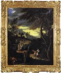 scène pastorale by italian school-ferrara (17)