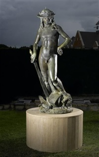 figure of david by donatello
