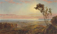 view of staten island by jasper francis cropsey