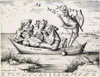 die blau schuyte: the ship of depravity by hieronymus bosch