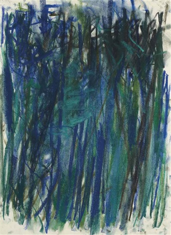sans titre by joan mitchell