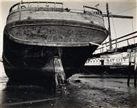 boat, bay city (san francisco by brett weston