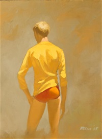 yellow shirt by robert r. bliss
