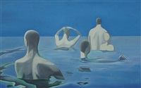 swimmers by zhang peili