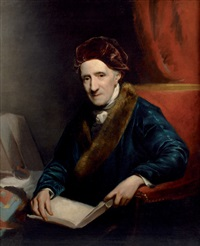 portrait du peintre james northcote by john jackson