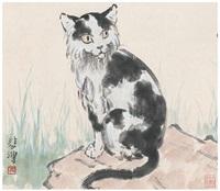 猫 by xu beihong