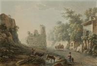 tomba degli orazi e curiazi by henri lévêque
