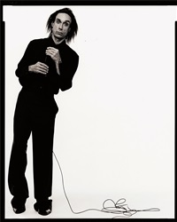 iggy pop (l'uomo vogue), new york by michel comte