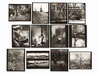 porfolio of 13 silver gelantin prints (portfolio of 13) by josef sudek